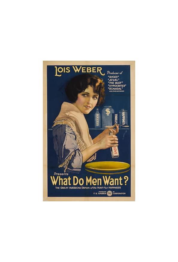 What Do Men Want? kapak