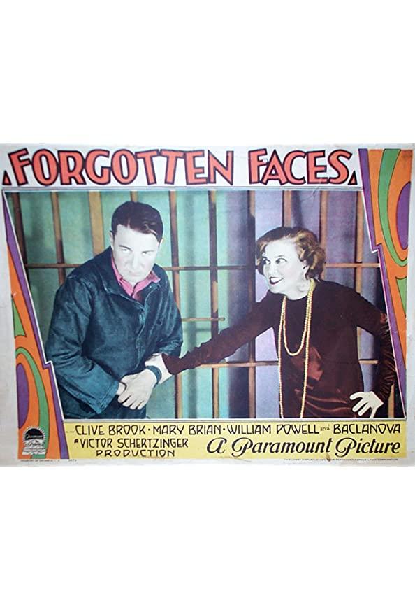 Forgotten Faces kapak