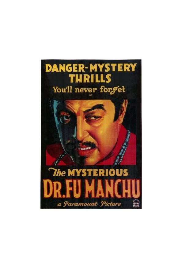 The Mysterious Dr. Fu Manchu kapak