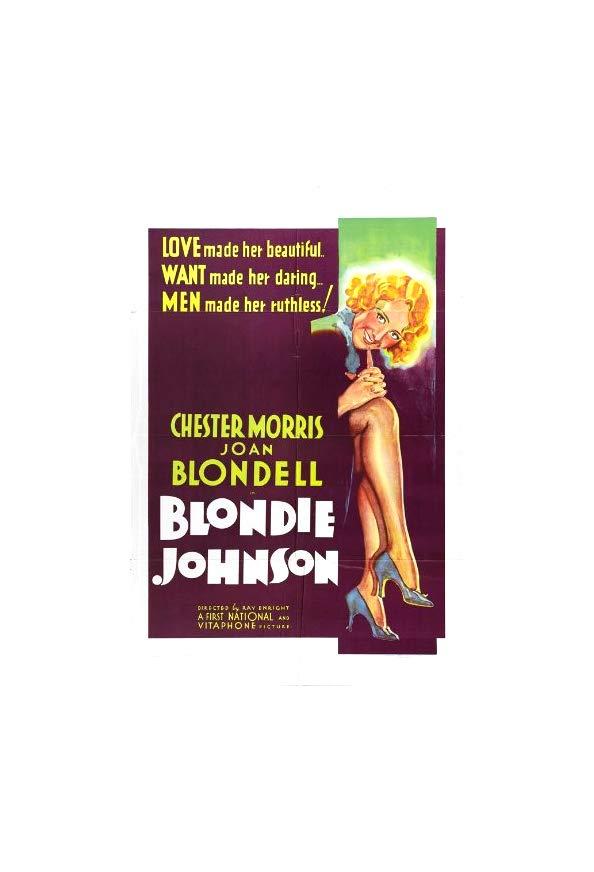 Blondie Johnson kapak