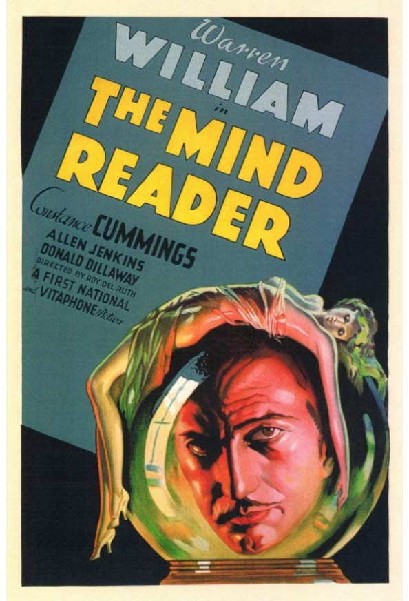 The Mind Reader kapak