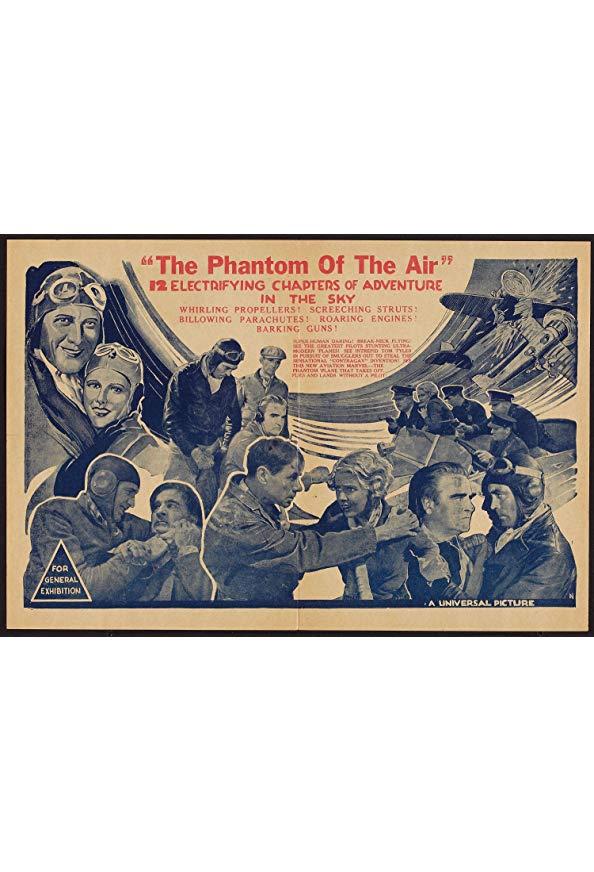 The Phantom of the Air kapak