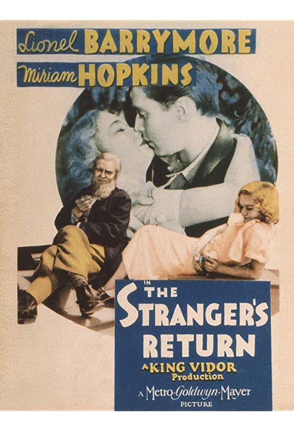 The Stranger's Return kapak