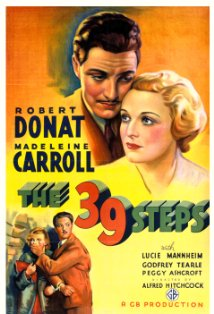 The 39 Steps kapak