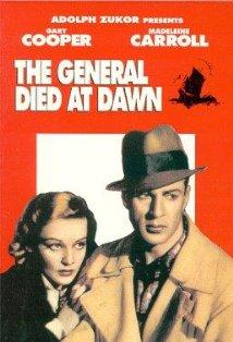 The General Died at Dawn kapak