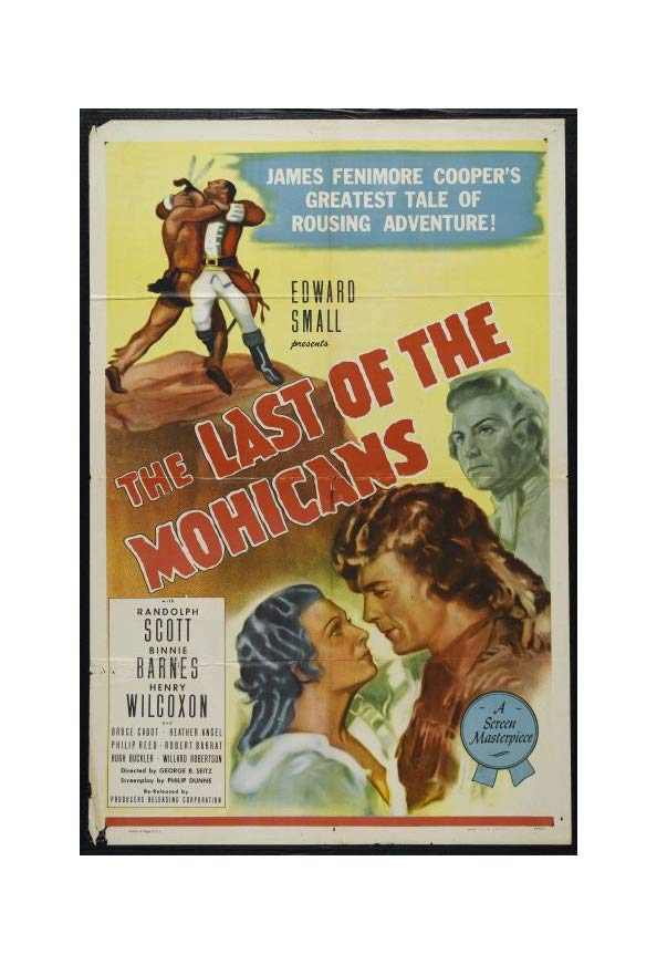 The Last of the Mohicans kapak
