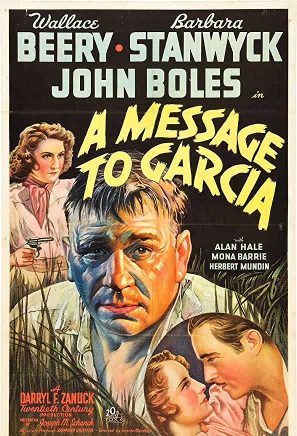 A Message to Garcia kapak