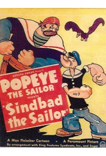 Popeye the Sailor Meets Sindbad the Sailor kapak