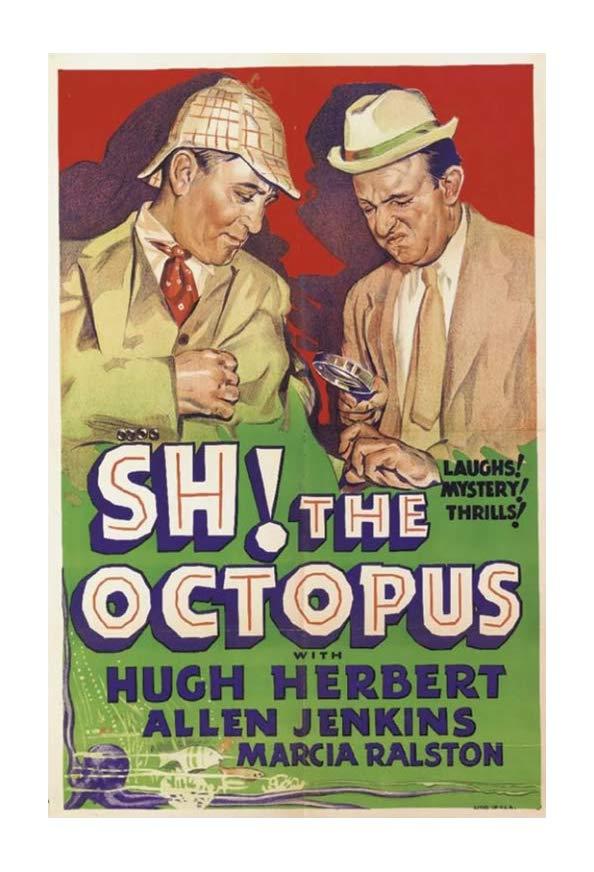 Sh! The Octopus kapak