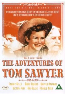 The Adventures of Tom Sawyer kapak