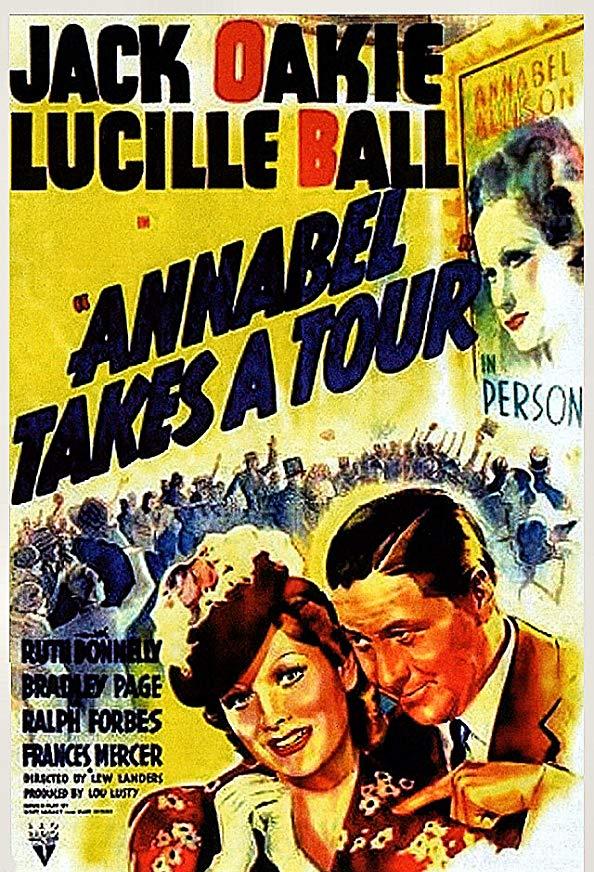 Annabel Takes a Tour kapak