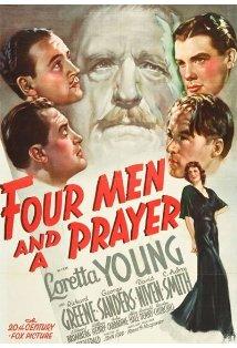 Four Men and a Prayer kapak