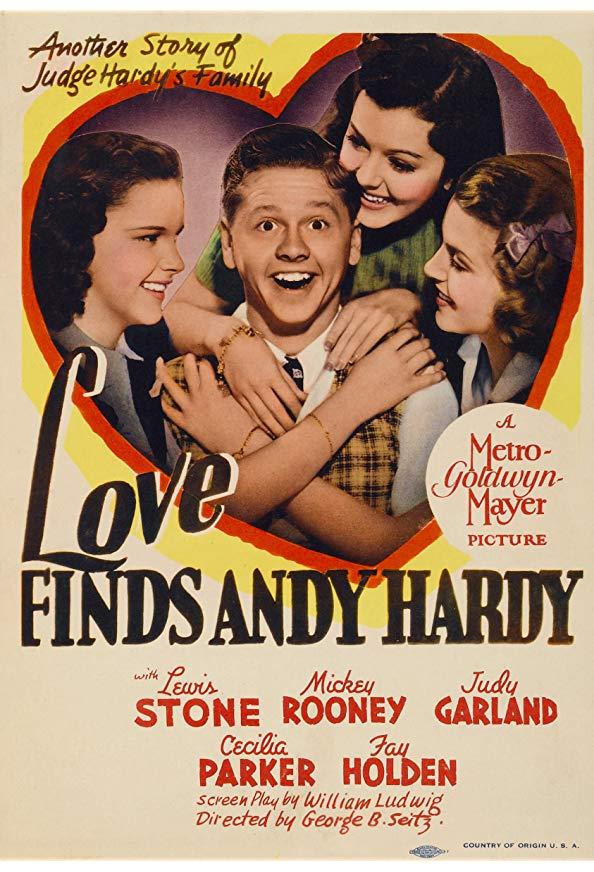 Love Finds Andy Hardy kapak