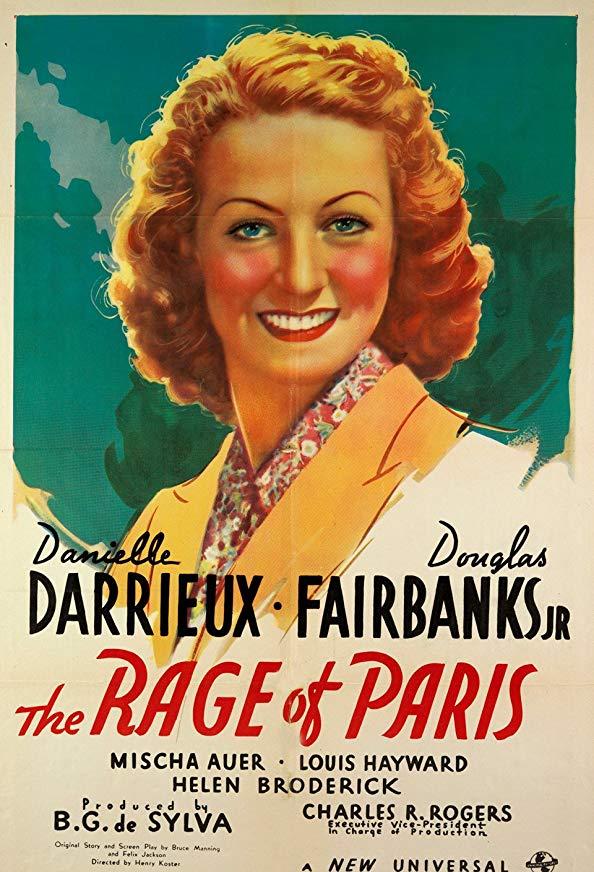 The Rage of Paris kapak