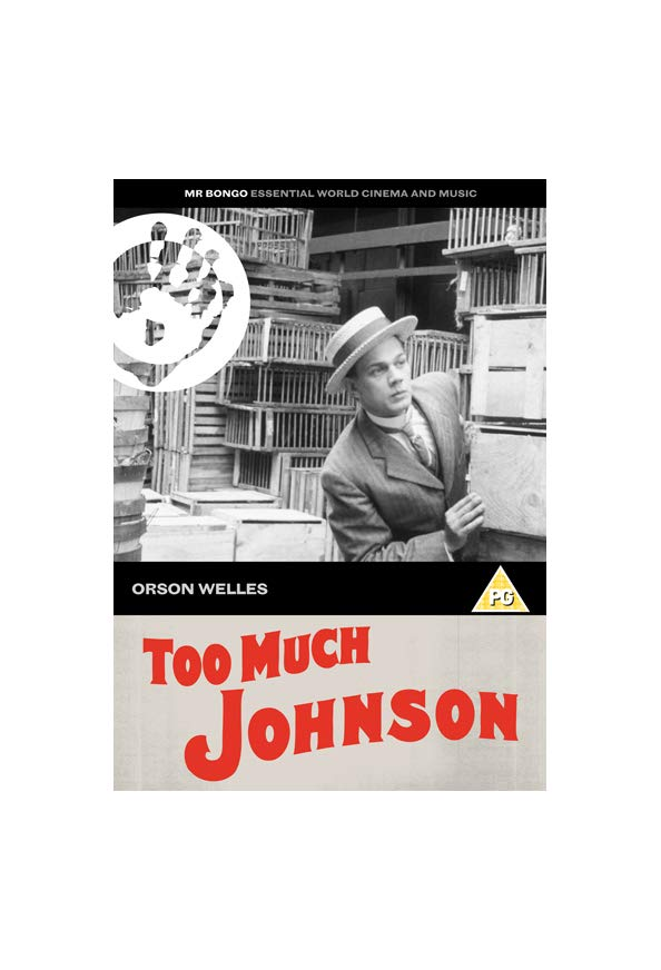 Too Much Johnson kapak