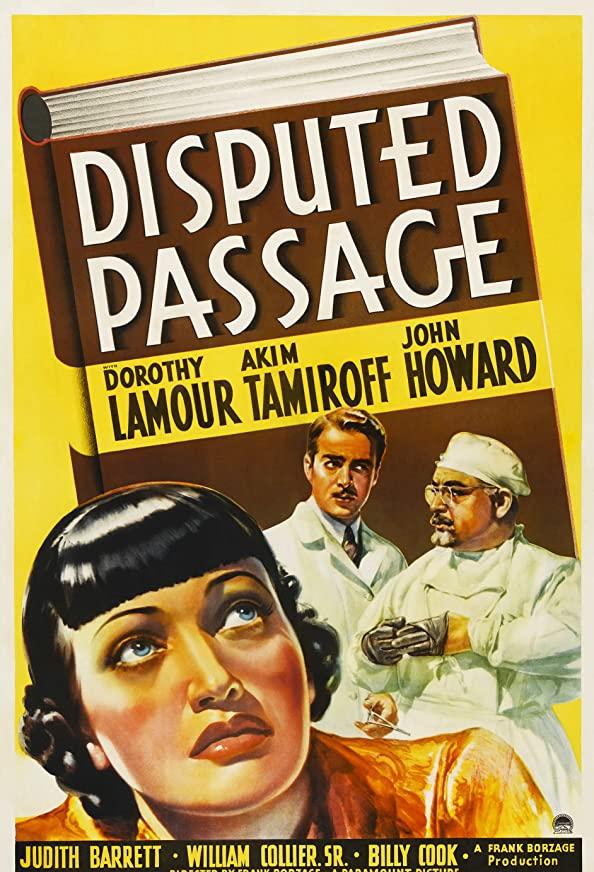 Disputed Passage kapak