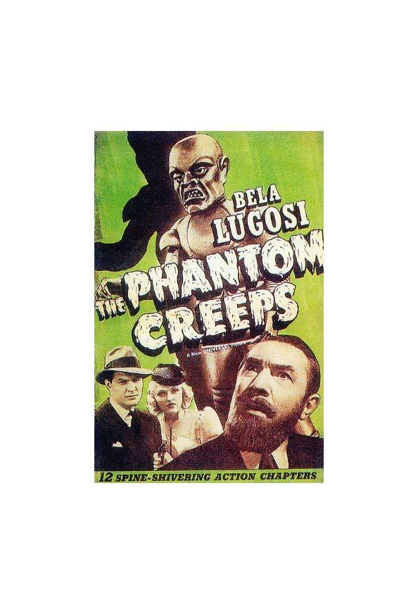 The Phantom Creeps kapak