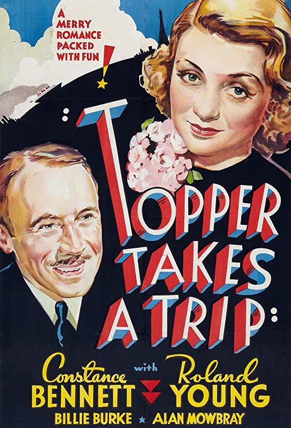 Topper Takes a Trip kapak
