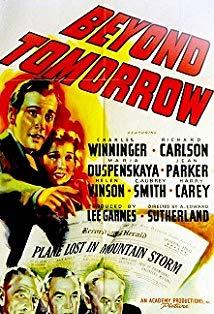 Beyond Tomorrow kapak