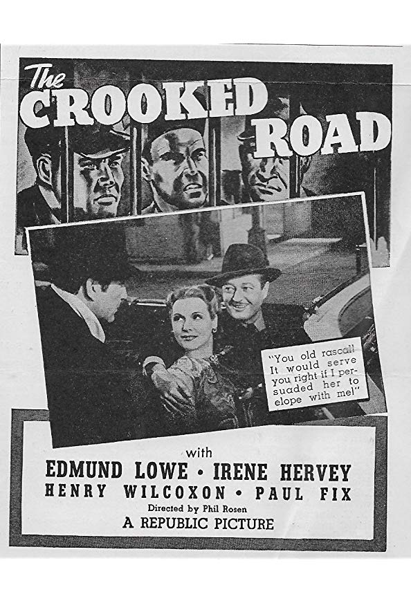 The Crooked Road kapak