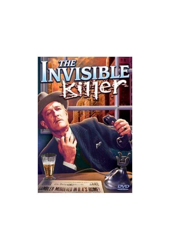 The Invisible Killer kapak