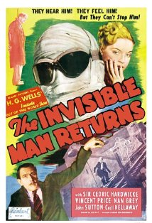 The Invisible Man Returns kapak