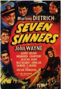 Seven Sinners kapak