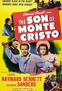 The Son of Monte Cristo kapak