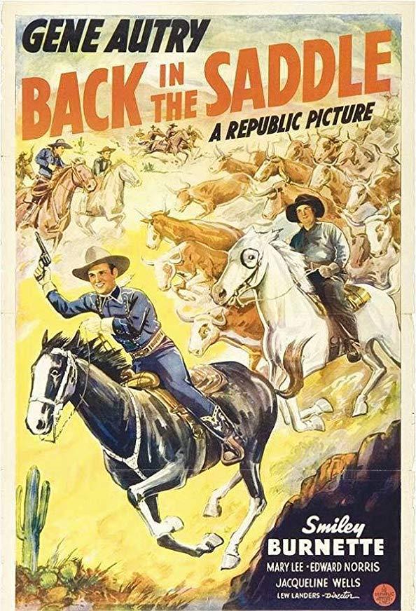Back in the Saddle kapak