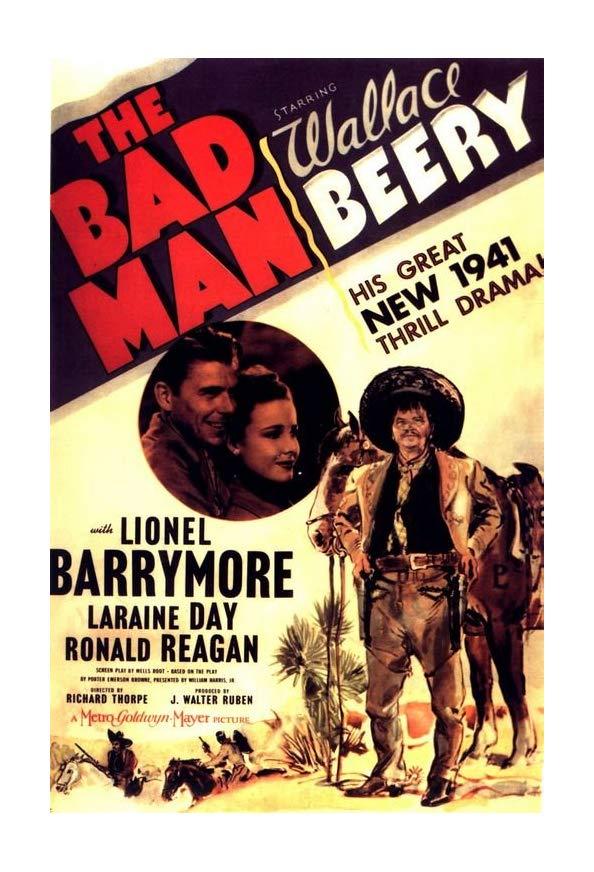 The Bad Man kapak