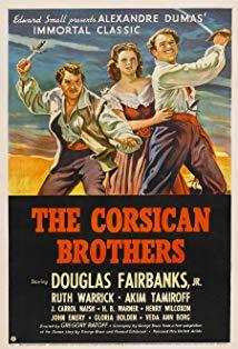 The Corsican Brothers kapak