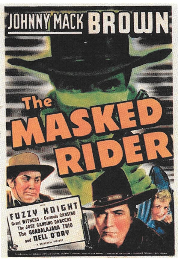 The Masked Rider kapak
