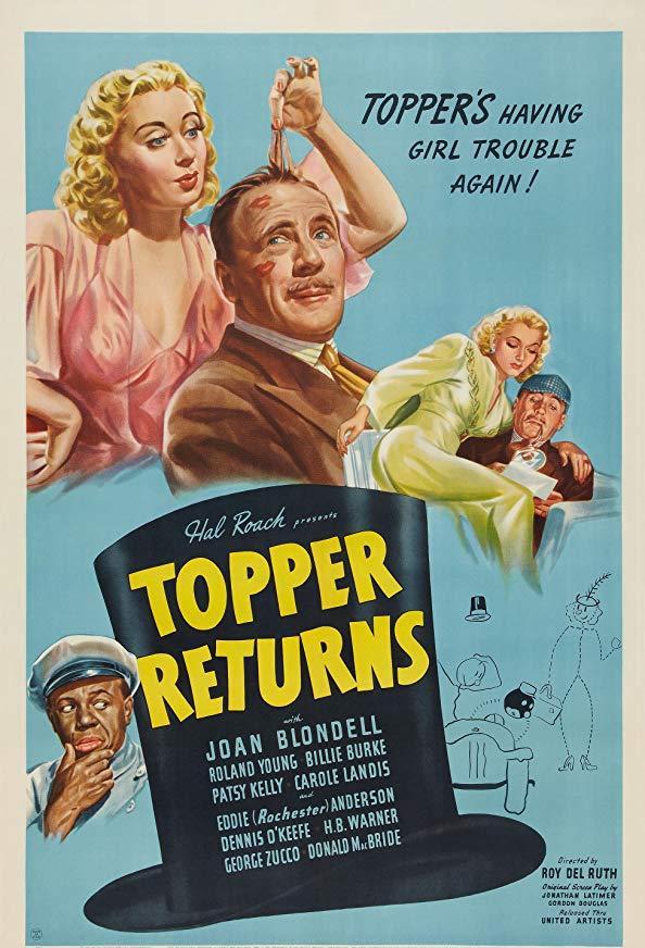 Topper Returns kapak