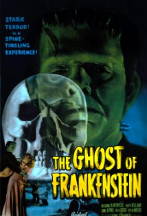 The Ghost of Frankenstein kapak