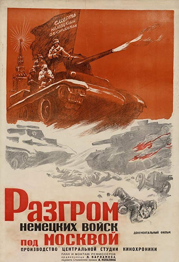 Moscow Strikes Back kapak