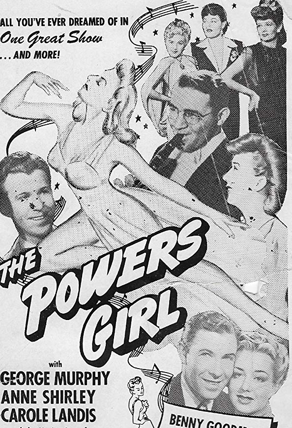 The Powers Girl kapak