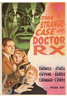 The Strange Case of Doctor Rx kapak