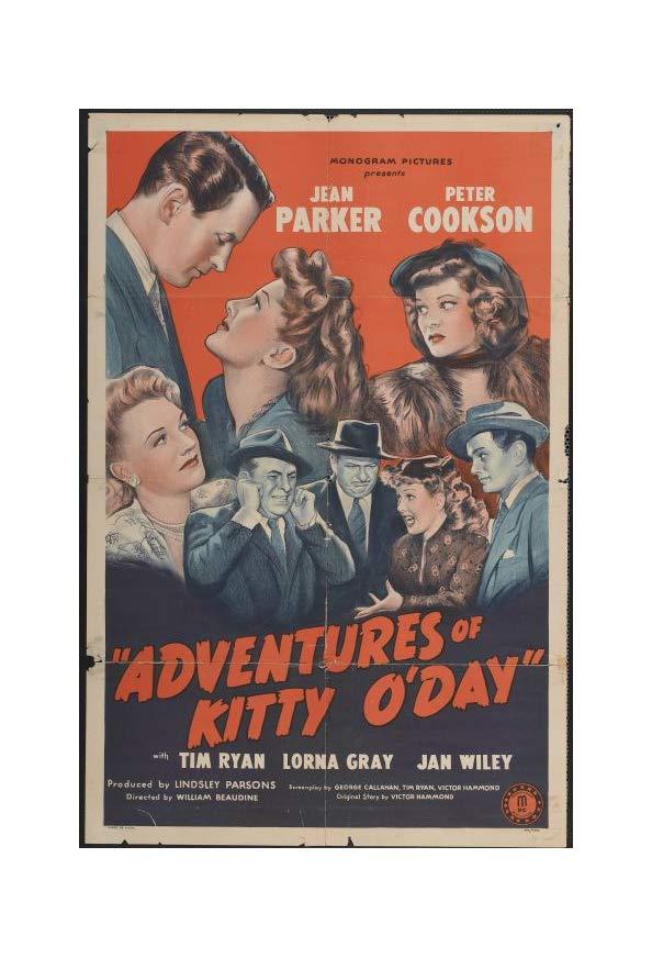 Adventures of Kitty O'Day kapak