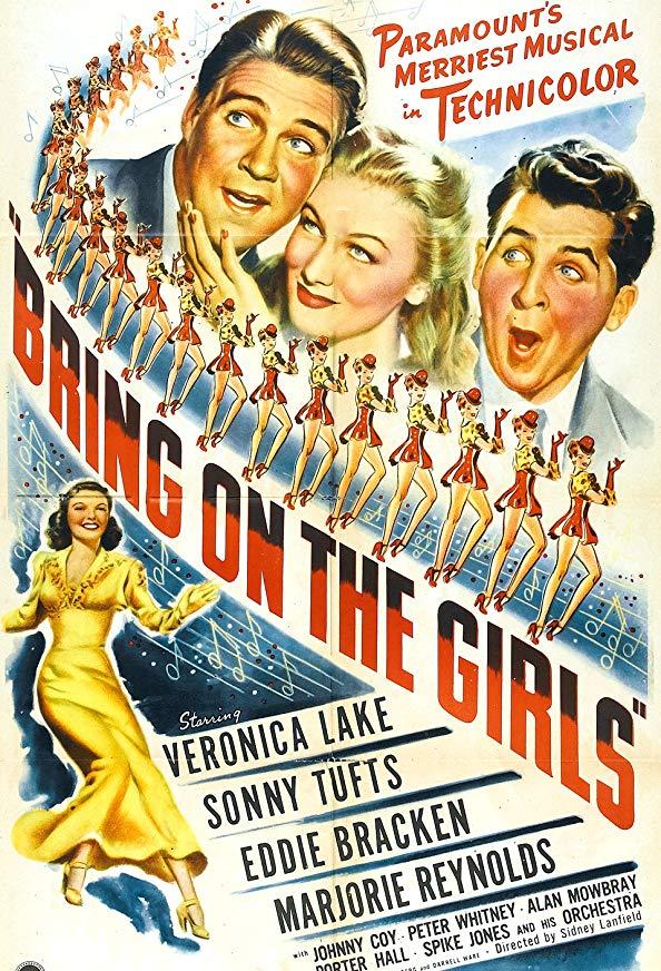 Bring on the Girls kapak