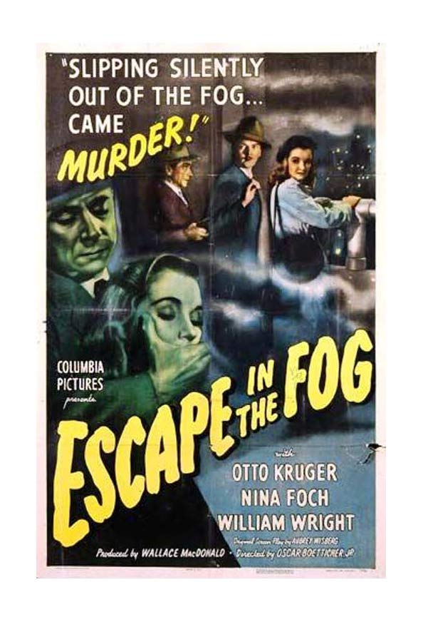 Escape in the Fog kapak