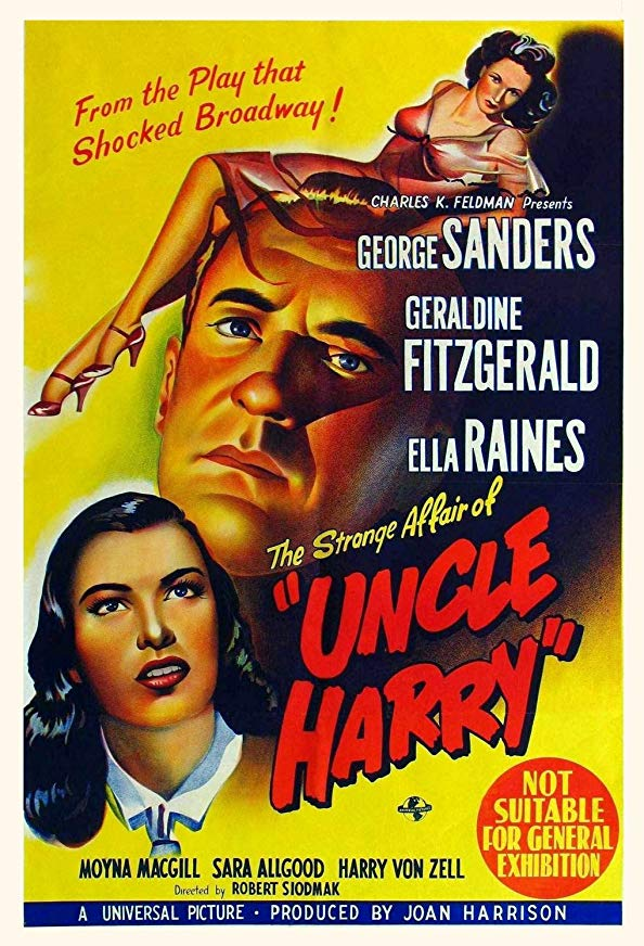 The Strange Affair of Uncle Harry kapak