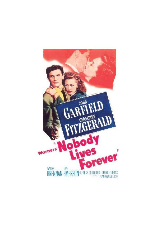 Nobody Lives Forever kapak