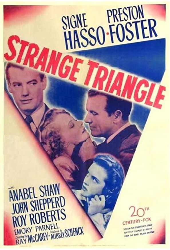 Strange Triangle kapak