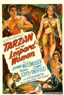 Tarzan and the Leopard Woman kapak
