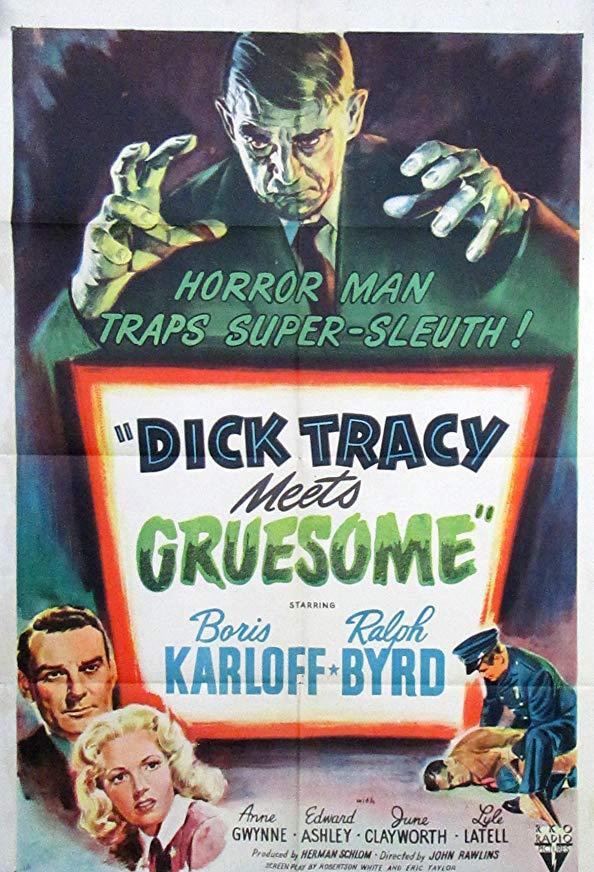 Dick Tracy Meets Gruesome kapak