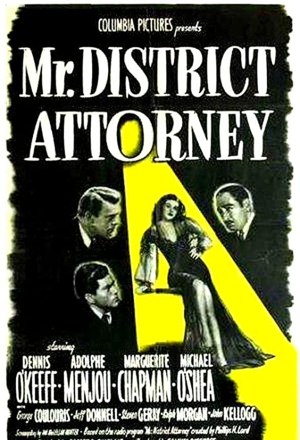 Mr. District Attorney kapak