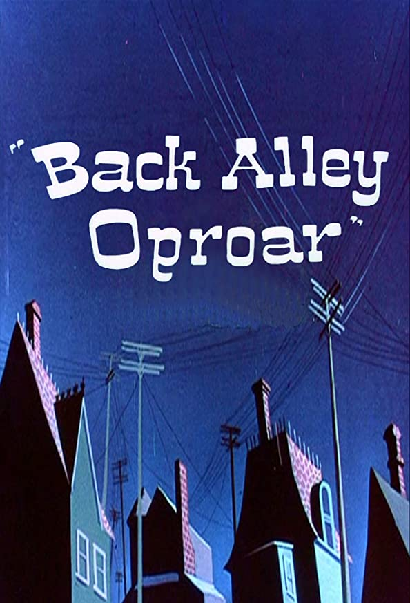 Back Alley Oproar kapak