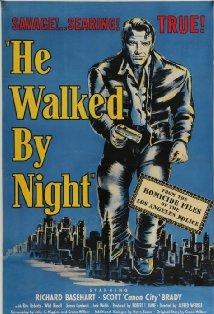 He Walked by Night kapak