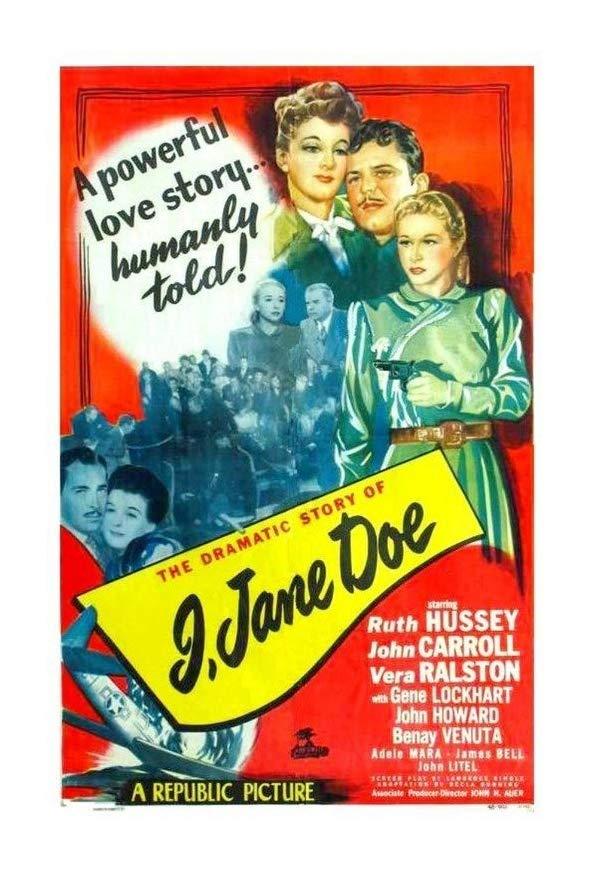 I, Jane Doe kapak