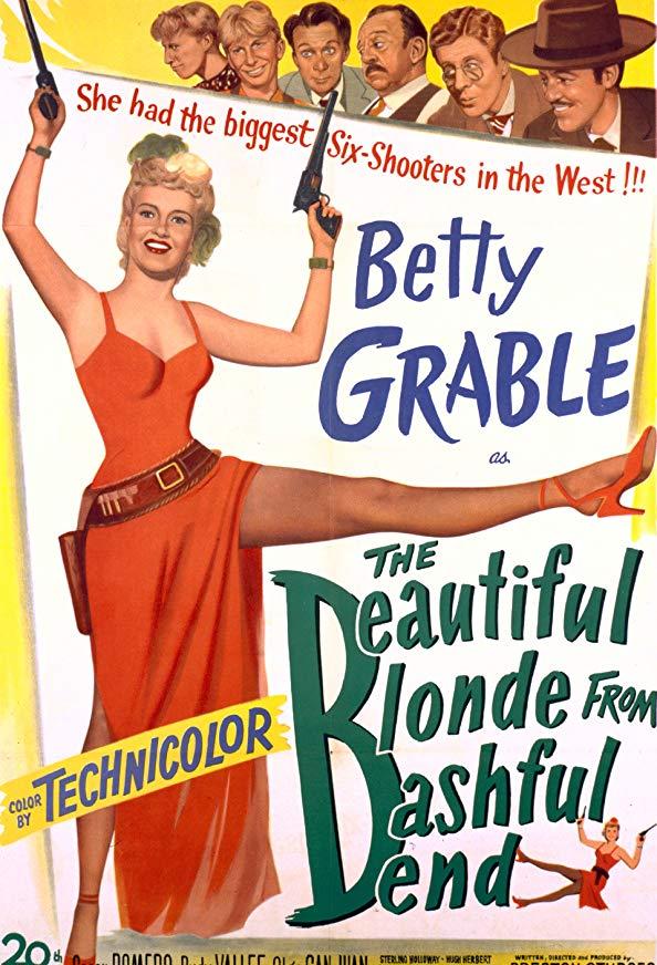 The Beautiful Blonde from Bashful Bend kapak